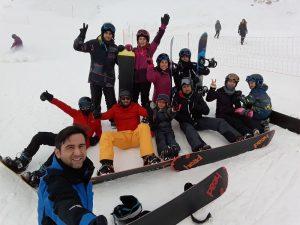 kayak snowboard temel egitim paketi 5