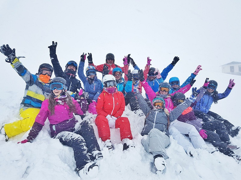 kayak snowboard temel egitim paketi 6