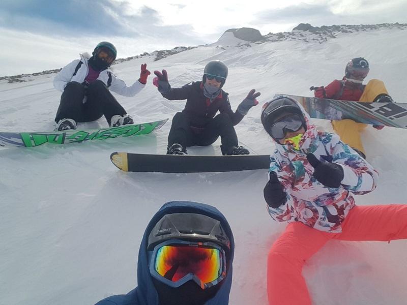 kayak snowboard temel egitim paketi 9